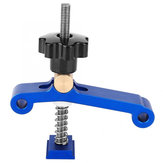 Aluminum Alloy T-slot T-Track Clamp Set Quick Acting Hold Down Clamp with Copper Pressure Woodworking Tool