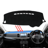 Dash Mat Dashmat Tapijt Cover Voor Mitsubishi Lancer 2008 ~ 2016 Dashboard Cover