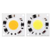 AC220-240V 30W bricolage COB LED ampoule puce puce perle 36x36mm pour projecteur de lumière crue