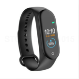 Bakeey M4 Heart Rate Blood Pressure Monitor Alarm Clock bluetooth Camera IP67 Waterproof Smart Watch Bracelet