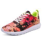 Tênis da moda Ultraleve respirável antiderrapante tênis de malha correndo sapatos de esportes de acampamento