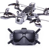 Flywoo Mr.Croc-HD 235mm 5 pouces 6S F4 Drone de course FPV Bluetooth BNF avec DJI FPV Air Unit & Goggles 2306.5 1750KV Motor