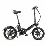 [EU Direct] FIIDO D3S Shifting Version 7.8Ah 36V 250W 16 Inches Folding Moped Bicycle 25km/h Max 60KM Mileage Electric Bike