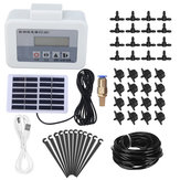 Solar Powered Pumping Irrigation Controller Home Garden Yard Watering Timer