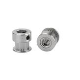 3 pièces Anet® 20 dents en aluminium 8 mm alésage poulie de courroie de distribution pour 6 mm largeur ceinture bride roue synchrone pour imprimante 3D CNC pièces