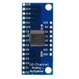 Smart Electronics CD74HC4067 16-канальный модуль печатной платы аналогового цифрового мультиплексора