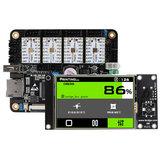 Lerdge-X ARM32 Mainboard com TMC2209 3,5 polegadas LCD Placa de controle da tela de toque Kit DIY para impressora 3D