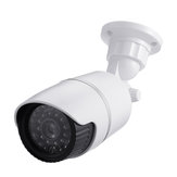 Dummy Simulation Surveillance Camera System Security CCTV Dome Indoor Outdoor with1 LED Light
