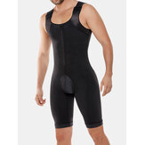 Men Onesies Binaraga Butt Lifting Shapewear Kontrol Tubuh