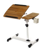 360 Graus de Ângulo Ajustável e Altura Rolando Notebook Laptop Desk Stand Over Bed Bed Table