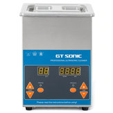 GT Sonic VGT-1620QTDプロフェッショナル超音波洗浄機精密部品洗浄装置-シルバー