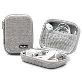 Boona Digital Accessories Storage Bolsa Carregador de cabo USB U Disk Earphone Organizer do cartão de memória Bolsa