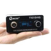 STC T12-946 Mini Solda Estação de Aquecimento Rápido Eletrônico Controlador Digital de 1.3 polegadas com M8 P9 Lidar Com Solda Ponta Do Ferro