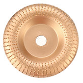 Drillpro 100x16mm Angle Grinder Wood Shaping Disc Sanding Carving Woodworking Rotary Tool Abrasive Disc