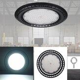 60/100/150 / 200W एलईडी यूएफओ हाई बे फ्लड लाइट 6000K वेयरहाउस औद्योगिक प्रकाश