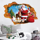 Miico XH7247 Christmas Sticker Home Decoration Sticker Window and Wall Sticker Shop Decorative Stickers