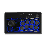 DOBE TP4-1886 7 in 1 Retro Arcade Fighting Analogico bastone Game Controller Joystick Rocker per Switch PS4 PS3 per XBox One/360 PC Android Giochi