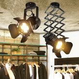 الصناعية الرجعية LED السقف ضوء المسار ضوء تمتد ضوء داخلي LED مصباح لنادي القماش