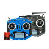FrSky Taranis Q X7S ACCESS 2.4GHz 24CH Mode2 Transmitter M7 Hall-sensor Gimbals and PARA Wireless Trainer Function with R9M 2019 Long Range Module for RC Drone