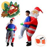 Scary Halloween Christmas Man Aufblasbares Kostüm Blow Up Anzüge Party Kleid Dekorationen