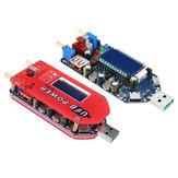 ZK-DP3A Modulo di alimentazione step up USB da 15 W Potenzia il potenziometro di controllo della velocità della ventola del convertitore regolabile con LCD Display