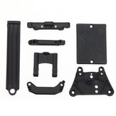 18101 Front Top Plate + Servo Guard + Suspension Brace For HBX 18859E 1/18 4WD Off Road Elektrisch aangedreven Crawler RC auto-onderdelen