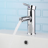 Brass Waterfall Basin Faucet Single Lever Mixer Bath Tap
