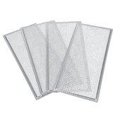WB06X10596 4шт Алюминиевая сетка Смазка для микроволновой печи Замена фильтра для Ge