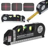 Righello metrico di allineamento del nastro di misurazione trasversale verticale livellato Laser