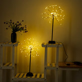 100 LED Одуванчики Лампа USB фейерверк Night Light Сад Свадебное Празднование Рождества