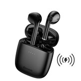 Baseus W04 Pro TWS bluetooth Earphone HiFi Stereo Touch Control Wireless Charging Headphone wtih Mic
