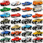 4Pcs Mini Alloy Car Children's Toys Taxi Simulation Car Model Set