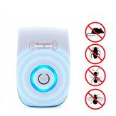 Insectes électroniques ultrasoniques Insectifuge Répulsif Anti-souris Cafard moustique Rongeur Contrôle des insectes Tueur