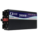 Intelligent Solar Pure Sine Inverter DC 12V/24V To AC 220V 60Hz 3000W/4000W/5000W/6000W Power Converter