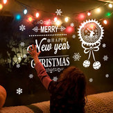 Miico ABQ6004 Christmas Sticker Creative Text Pattern Wall Stickers Removable Room Decoration