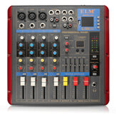 ELM SMR503-USB bluetooth 4ch 48V Phantom Power Audio Mixer Микшерный пульт для сцены KTV Karaoke