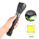 XANES® 1909 XHP90 2500 Lumens 3 Modes Zoomable USB Rechargeable Flashlight