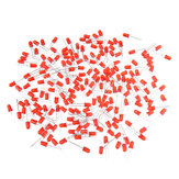 1000pcs 5MM Red LED Diode Round Diffused Red Color Light Lamp F5 DIP Highlight