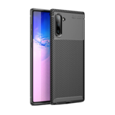 Bakeey Protective Case For Samsung Galaxy Note 10 Slim Carbon Fiber Fingerprint Resistant Soft TPU Back Cover