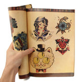 108Pages Eastern Imprint Fine Printed Art Design Tattoo Book