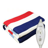 220V 100W 150x120 cm 3 marce controllo elettrico coperte riscaldate impermeabili lusso flanella doppia comfort