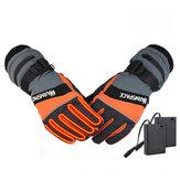 WARMSPACE WS-G0126 Электрическое отопление Перчатки На открытом воздухе Лыжи Верховая езда Сенсорный экран Перчатки Зима Теплая Перчатки
