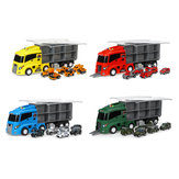 6Pcs/7Pcs Play Vehicles Construction Vehicle Truck Cars Toys Set Friction Powered Push Engineering Vehicles Assorted Construction for Boys and Girls