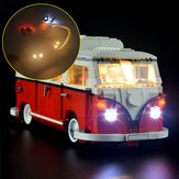 DIY LED Light Lighting Kit ONLY For LEGO 10220 Advanced Models VW T1 Camper Van