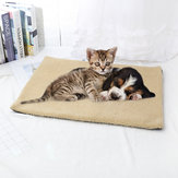 Bed Warm Fleece Pet Mat Self Heating Blanket Dog Cat Cushion