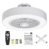 Luz de ventilador de techo AC185-250V 80W con controlador Control remoto