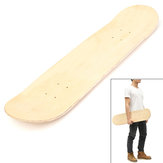 Blank Double Warped Concave Deck Natural Wood Skate Deck DIY Skateboard