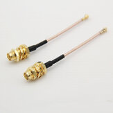 Mini IPEX UFL. IPX vers SMA/RP-SMA Câble adaptateur Antenne Extension Wire 20 * 20 pour Micro VTX RX FPV System