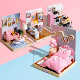 Cuteroom BT Corner of Happiness Series DIY Cabin Doll House Gift Collection Decoration