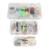 ZANLURE 28/88/103 Pcs Polypropylene Fishing Lure Multifunctional Lures Kit Fishing Tackle
